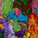 Soffsilk Sari Silk, Custom Dyed, from The Woolery