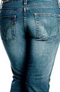 Indigo blue jeans
