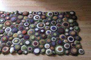 jessica vanderloo recycled wool rug