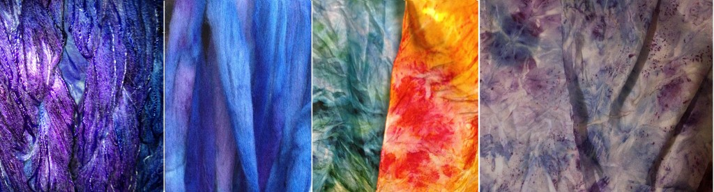 One day's dyeing.