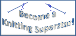Knitting Superstar banner