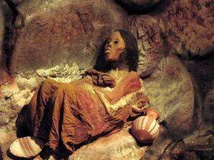 Peruvian mummy Juanita