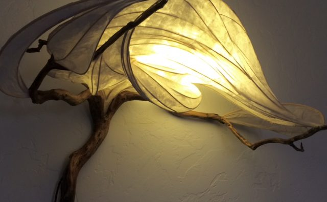 decorative and functional sculpture light