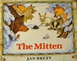 The Mitten children's book at slowyarn.com