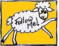 Sheep Follow Button
