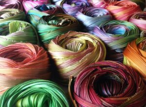 shiborigirlstudios.com photo of arashi shibori silk ribbon