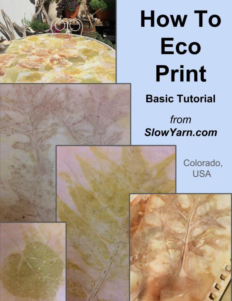 eco printing tutorial
