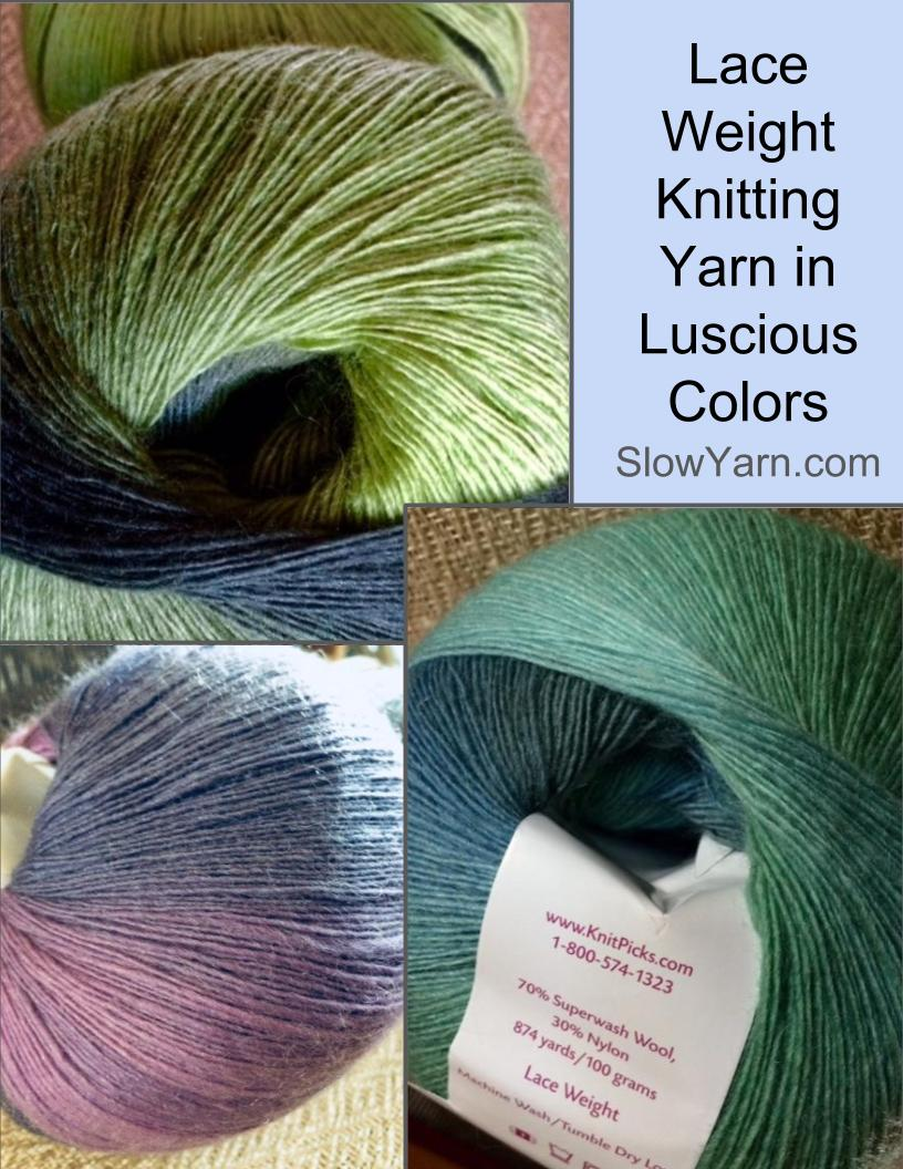 Lace wool knitting yarn on sale