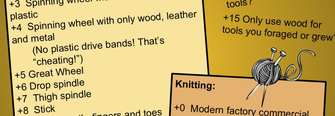 quiz on spinning and knitting how primitive are your skills