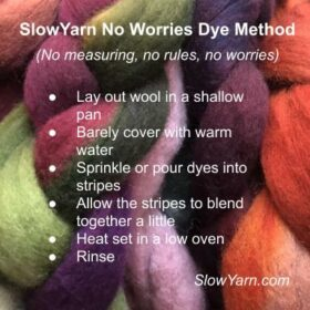 quick breakdown of easy dye method